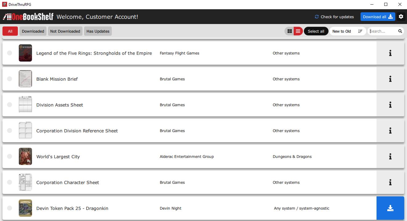 Library Application Screenshot